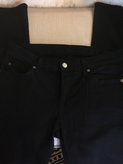 7 For All Mankind Cigarette Size 29 Skinny Jeans-Dark Rinse