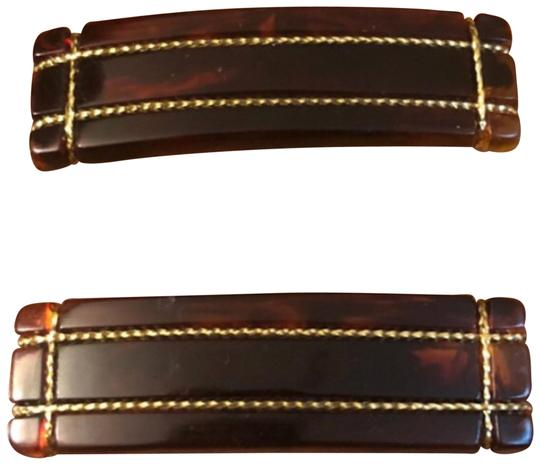 Preload https://item5.tradesy.com/images/brown-french-barrettes-hair-accessory-23964534-0-1.jpg?width=440&height=440