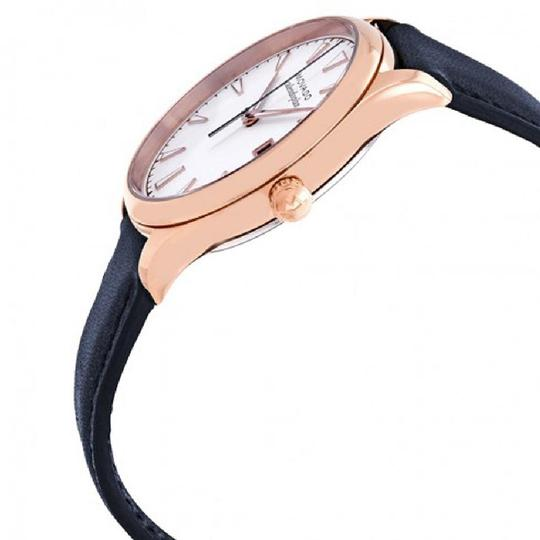 Movado Heritage Date Dial Ladies Leather Watch