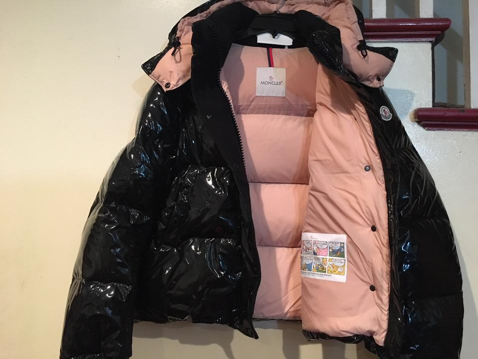 b909deca7ab Moncler Black Gaura Shiny Down Jacket - 3  Large Coat Size 14 (L) - Tradesy