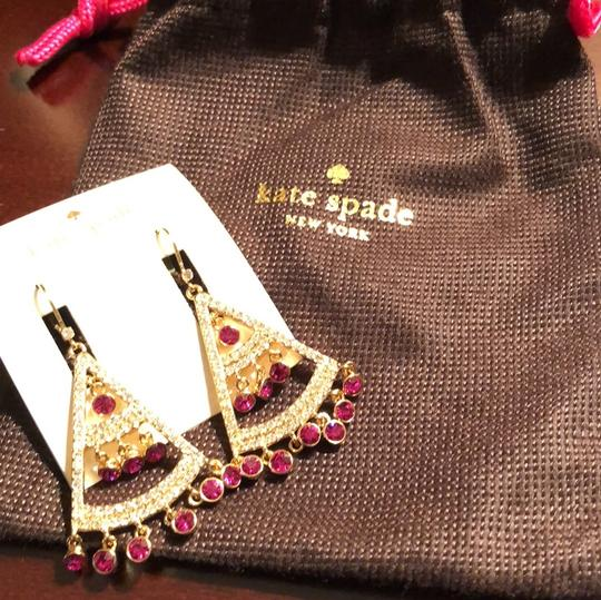 Kate Spade subtle sparkle earrings