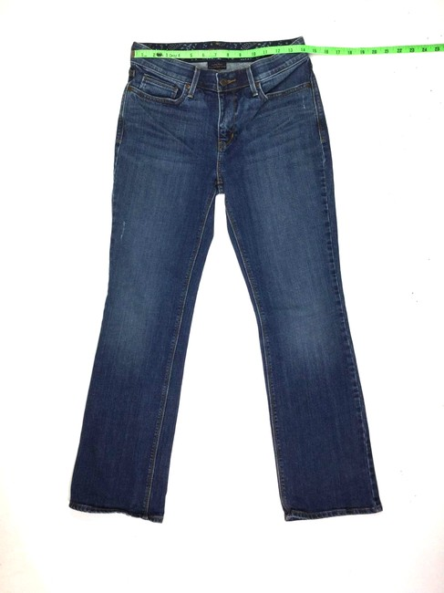 Levi's Size 2 J071818-07 Straight Leg Jeans-Medium Wash