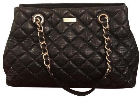Preload https://img-static.tradesy.com/item/23964635/kate-spade-gold-coast-marianne-quilted-leather-shopper-black-tote-0-2-540-540.jpg