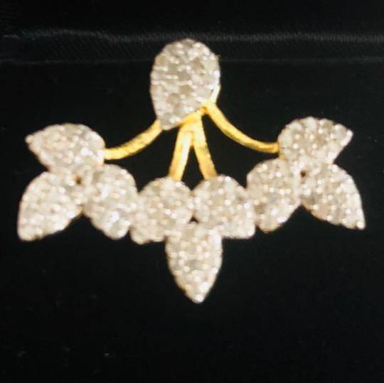 Forever Creations Pave Diamond Earrings with Jackets