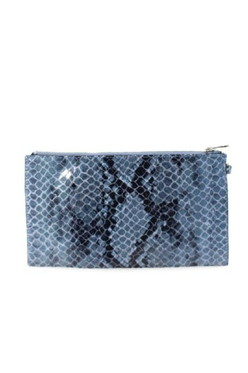 Michael Kors Wristlet in Denim Blue