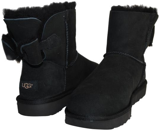 Preload https://img-static.tradesy.com/item/23964726/ugg-australia-black-new-naveah-mini-women-with-one-suede-bow-on-the-bootsbooties-size-us-9-regular-m-0-1-540-540.jpg