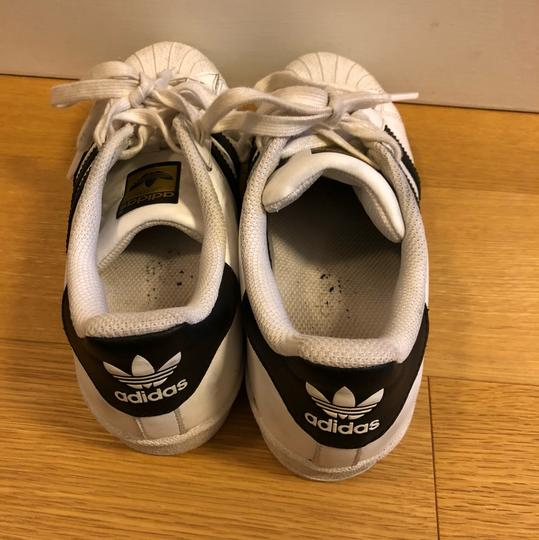 adidas white with black Athletic
