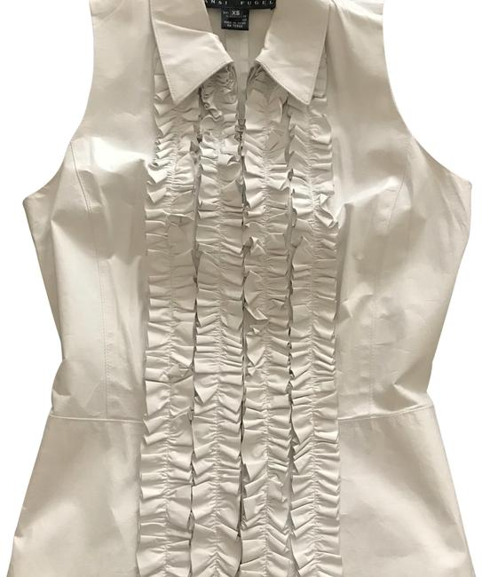 Preload https://img-static.tradesy.com/item/23964736/yansi-fugel-white-soft-leather-vest-size-2-xs-0-1-650-650.jpg