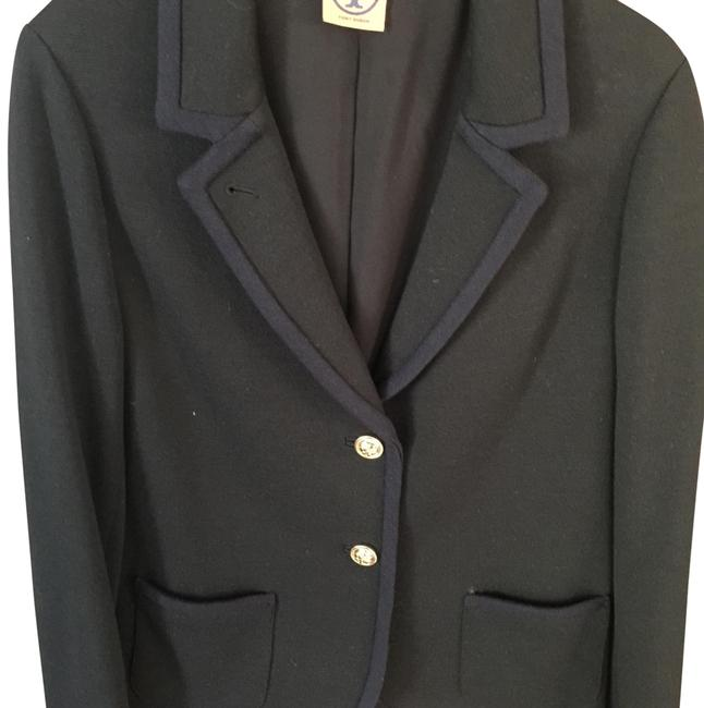 Preload https://img-static.tradesy.com/item/23964739/tory-burch-black-and-blue-boy-knit-with-gold-buttons-blazer-size-12-l-0-1-650-650.jpg