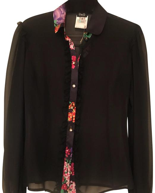 Preload https://img-static.tradesy.com/item/23964782/dolce-and-gabbana-black-sheer-d-and-g-bouseflower-trim-vintage-blouse-size-4-s-0-1-650-650.jpg