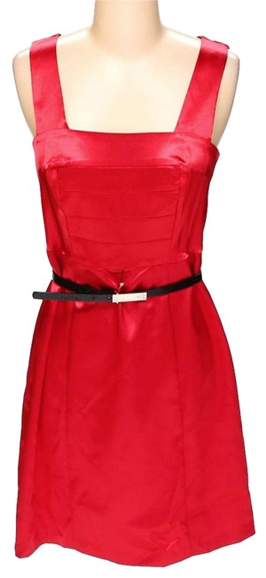Preload https://img-static.tradesy.com/item/23964783/a-byer-red-new-w-tags-belted-a-line-satin-mid-length-workoffice-dress-size-4-s-0-1-650-650.jpg