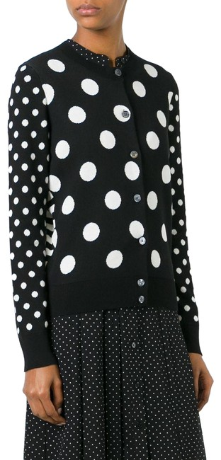 Preload https://item5.tradesy.com/images/marc-jacobs-black-white-stripe-and-polka-m4006285-cardigan-size-2-xs-23964789-0-2.jpg?width=400&height=650