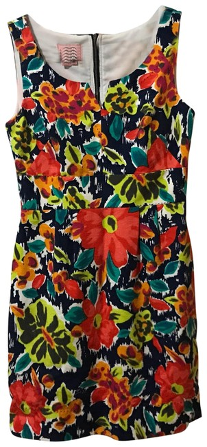 Preload https://item4.tradesy.com/images/phoebe-couture-blue-floral-garden-short-casual-dress-size-4-s-23964798-0-1.jpg?width=400&height=650
