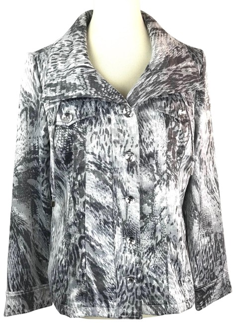 Preload https://img-static.tradesy.com/item/23964820/berek-snakeskin-printed-metallic-button-up-spring-jacket-size-6-s-0-1-650-650.jpg