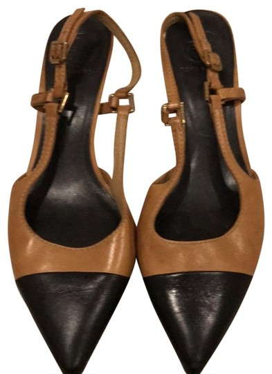 Preload https://item3.tradesy.com/images/tory-burch-tan-and-black-color-sling-pumps-size-us-85-regular-m-b-23964852-0-1.jpg?width=440&height=440