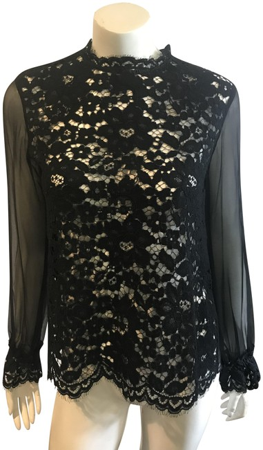 Preload https://item4.tradesy.com/images/alexis-black-14518-lace-sheer-unlined-evening-blouse-size-8-m-23964868-0-1.jpg?width=400&height=650