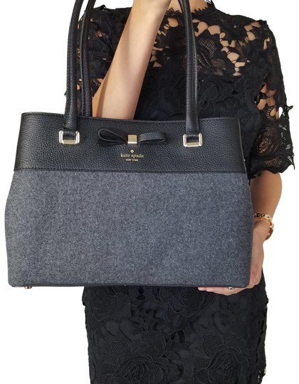 Preload https://img-static.tradesy.com/item/23964873/kate-spade-new-york-small-maryanne-henderson-charcoal-grey-handbag-black-satchel-shoulder-bag-0-1-540-540.jpg