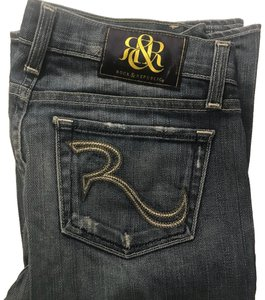 Rock & Republic Flare Leg Jeans-Distressed