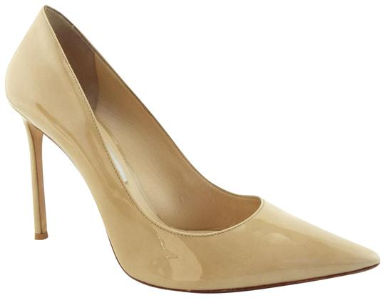 Preload https://item1.tradesy.com/images/jimmy-choo-beige-nude-patent-leather-classic-heel-pumps-size-eu-40-approx-us-10-regular-m-b-23964915-0-1.jpg?width=440&height=440
