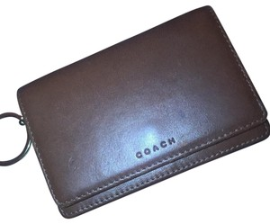 Coach coach key fob wallet