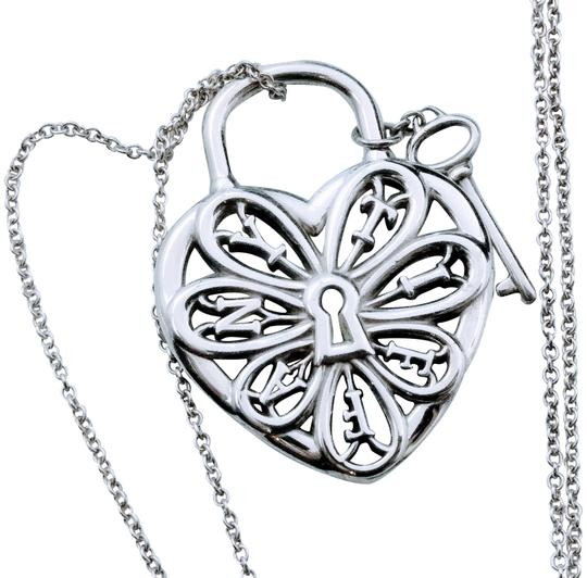 Preload https://item4.tradesy.com/images/tiffany-and-co-ornamental-heart-pendant-necklace-23964943-0-4.jpg?width=440&height=440
