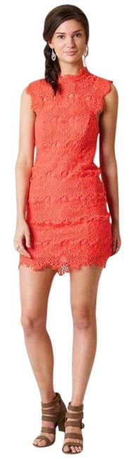 Preload https://img-static.tradesy.com/item/23964971/free-people-coral-daydream-lace-short-cocktail-dress-size-4-s-0-1-650-650.jpg