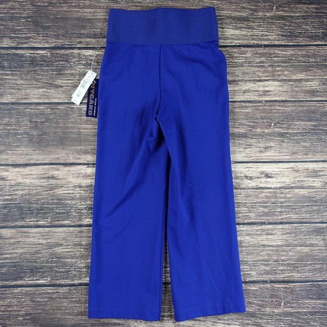 Peter Nygard Capris Slim Pants Skinny Blue Leggings