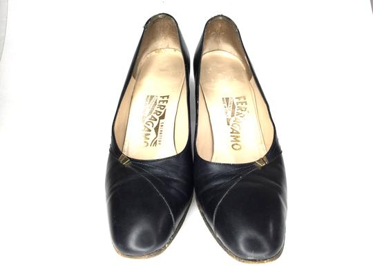 Salvatore Ferragamo Heels Size *aa S021918-17 black Pumps