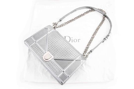 Dior Geometric Octogon Shoulder Bag