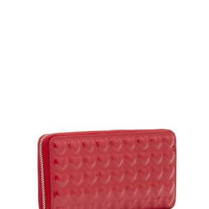 Marc Jacobs Marc Jacobs heart leather continental wallet