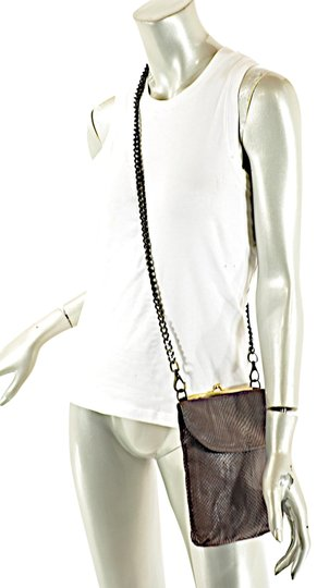 Preload https://item1.tradesy.com/images/espresso-embossed-dual-chain-wide-strap-brown-snakeskin-leather-cross-body-bag-23965030-0-1.jpg?width=440&height=440