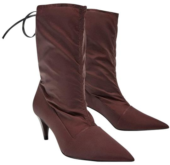 Preload https://img-static.tradesy.com/item/23965049/zara-burgundy-fabric-with-laces-bootsbooties-size-us-65-regular-m-b-0-1-540-540.jpg