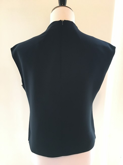 Grace Shirt Sleeveless Blue Top Navy