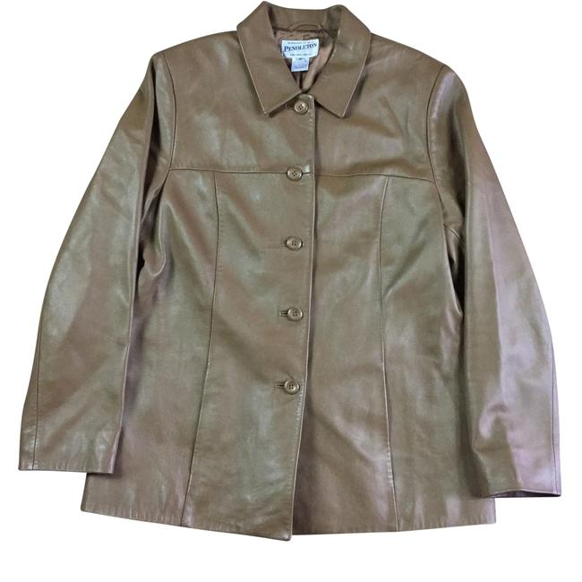 Preload https://item4.tradesy.com/images/pendleton-brown-womens-medium-button-up-2287-leather-jacket-size-10-m-23965088-0-0.jpg?width=400&height=650