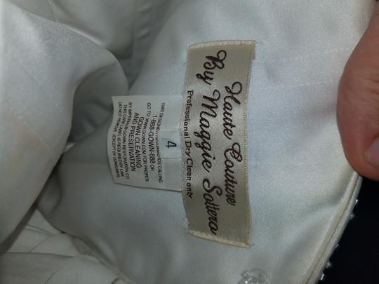 Maggie Sottero White Tag It's On Traditional Wedding Dress Size 4 (S)
