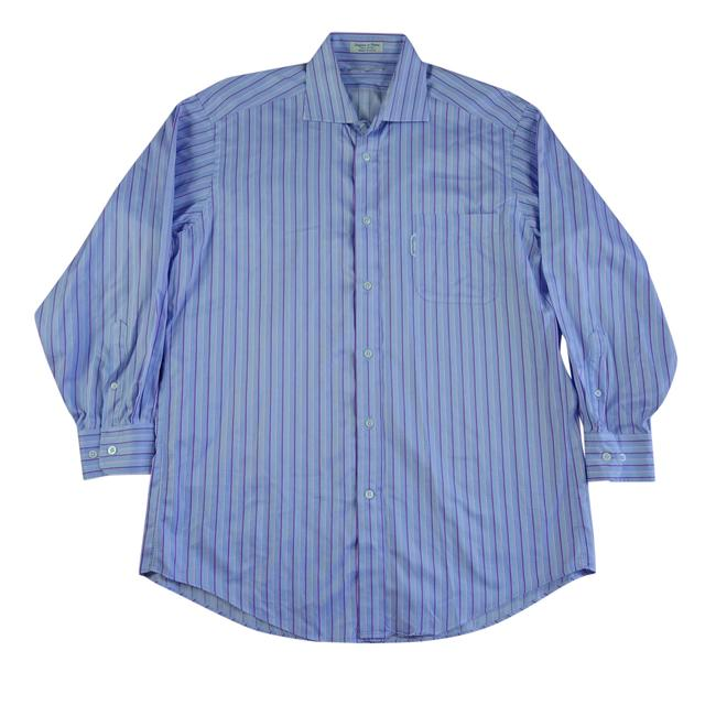 Preload https://item5.tradesy.com/images/faconnable-blue-womens-s-165-r-dress-shirt-purple-pink-striped-button-button-down-top-size-6-s-23965109-0-0.jpg?width=400&height=650