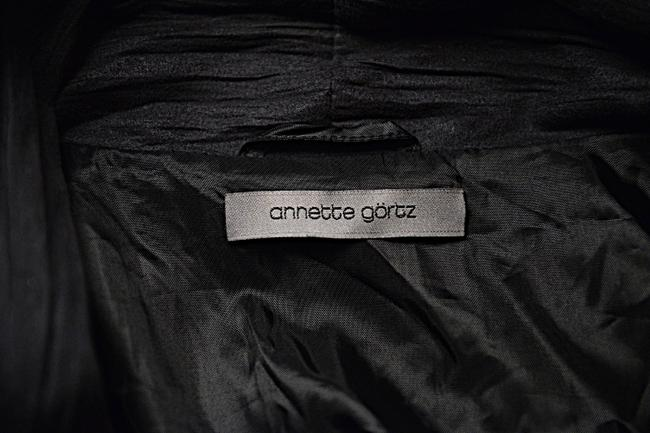 Annette Görtz Made In Germany Crinkled Dark Gray Jacket