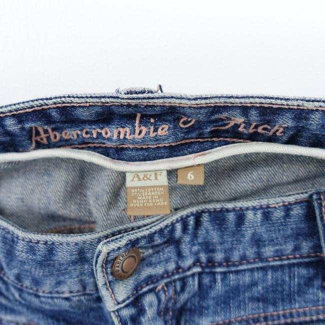 Abercrombie & Fitch Low Rise Pocket Front Boot Cut Jeans