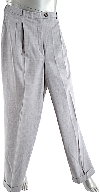 Preload https://item4.tradesy.com/images/gunex-gray-pale-heather-wool-blend-gentle-stretch-with-cuffs-trousers-size-14-l-34-23965158-0-1.jpg?width=400&height=650