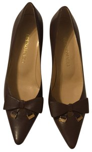 Bruno Magli dark brown Pumps