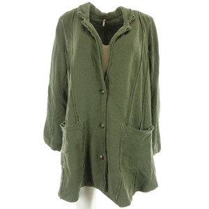 Free People Knit Small green Jacket