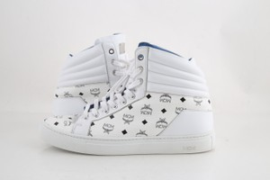 MCM White Carryover High Top Sneakers Shoes
