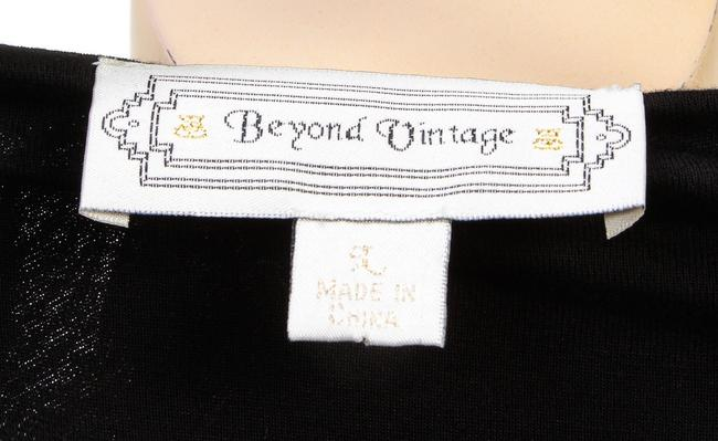 Beyond Vintage Top Black