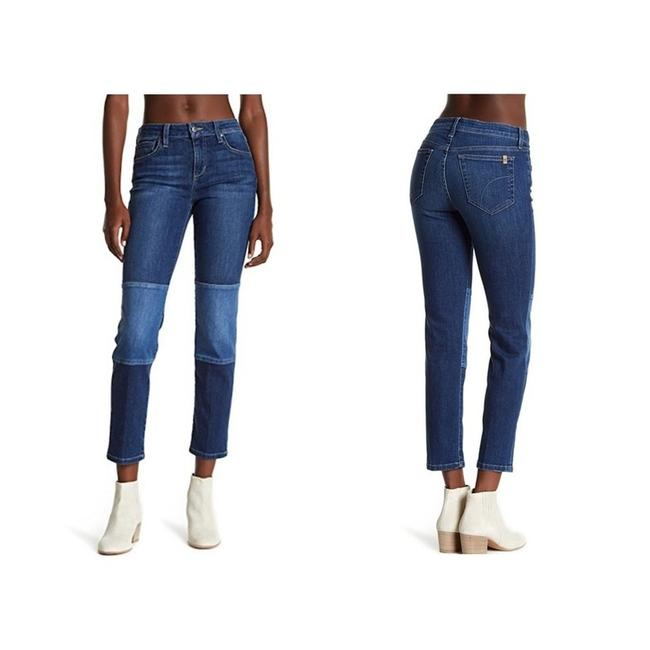 Item - Blue Coated Straight Ankle -lana Skinny Jeans Size 30 (6, M)