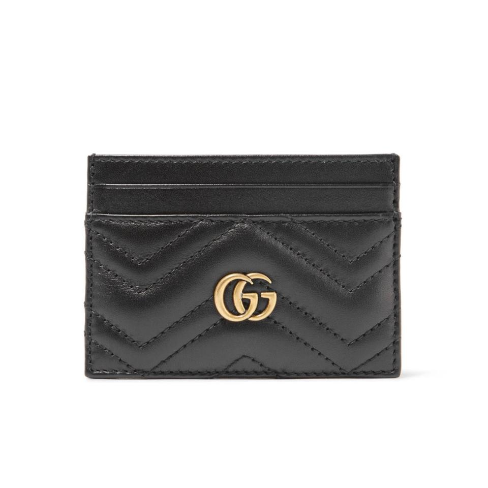 b340c1b78afb Gucci Marmont Quilted Leather Card Holder Case Wallet - Tradesy