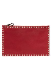 Valentino Pouch New Studded red Clutch