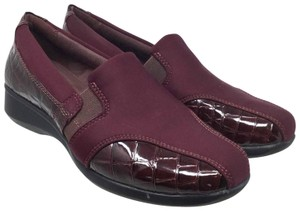 Clarks Us7 Slip On S070518-16 Purple Mules