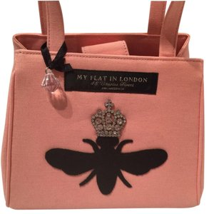 My Flat in London Satchel in Pink