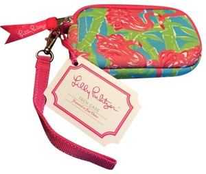Lilly Pulitzer Fan Dance Tech Wristlet
