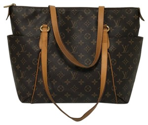 Louis Vuitton Totally Mm Monogram Canvas B00000633 Tote in Brown